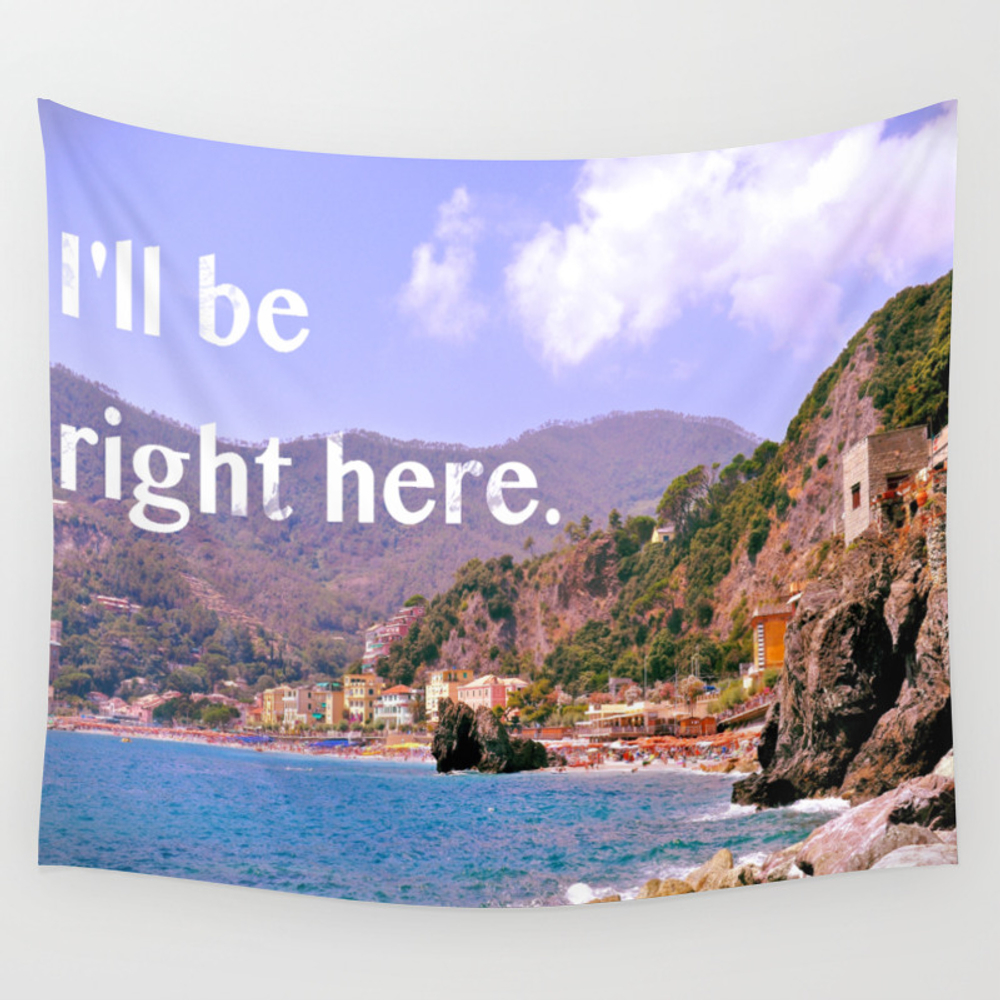 I'll Be Right Here. Wall Tapestry by Zachboyers TPS5760110
