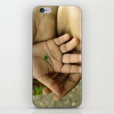 My heart in your hand iPhone & iPod Skin