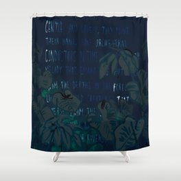 """""""Conquest of the Useless"""" by Werner Herzog Print (v. 5) Shower Curtain"""