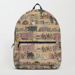 Library Print Backpack