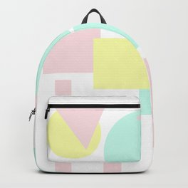 geometric pastello Backpack