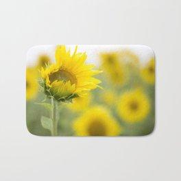 little sunflower  Bath Mat
