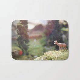 Temporary Happiness part 1 deer Bath Mat