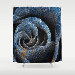 Susquehanna Winter Rose Shower Curtain