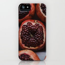 Pomegranates in Israeli Market iPhone Case