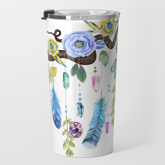 Wild Wood Roses And Twisted Branches Spirit Gazer Travel Mug