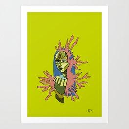 Queen of Puppolonia Art Print