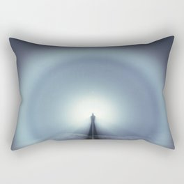 The White Rainbow Rectangular Pillow