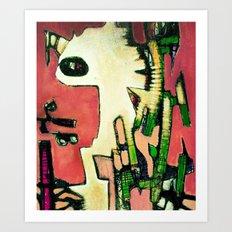 Lucas Eyehole Art Print