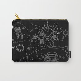 Twin Peaks Map of Black Lodge Carry-All Pouch