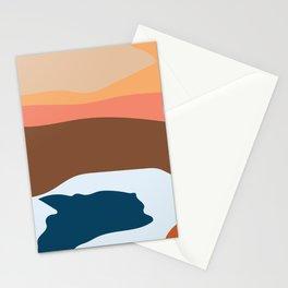 Brownie Snow Stationery Cards