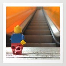 Going Up! Art Print