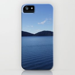 Calm Waters of the Sounds iPhone Case