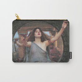 Circe Offering the Cup to Ulysses, John William Waterhouse Carry-All Pouch
