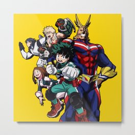 Boku no Hero Academia 4 Metal Print
