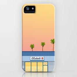 El Cochinito Storefront iPhone Case