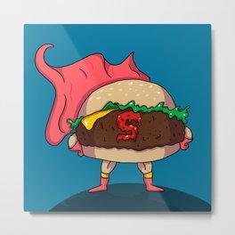 Hamburger Heroes Metal Print