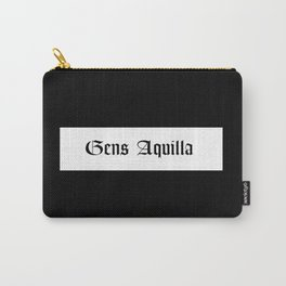 Gens Aquilla Black Carry-All Pouch