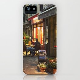 Evening in Provence Village iPhone Case