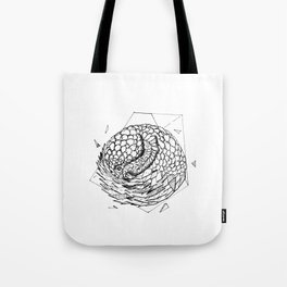 Geometric Season1:10 Pangolin Tote Bag