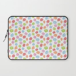 Wibbly Wobbly Flowers Laptop Sleeve