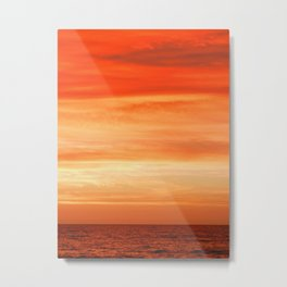 Creamsicle Sunrise Metal Print