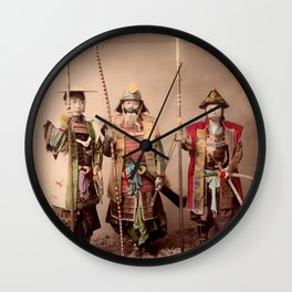 The Last Samurai Wall Clock
