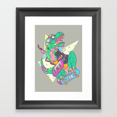 Ju-RAD-ssic Park Framed Art Print