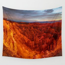Red Canyon Wall Tapestry