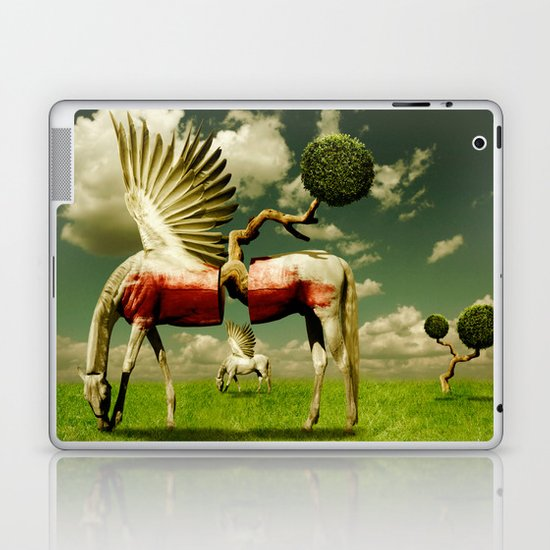 Pegasus Divided Laptop & iPad Skin