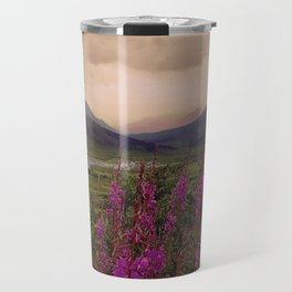 Pink Canadian North Travel Mug