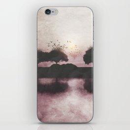 Positive Sunset iPhone Skin
