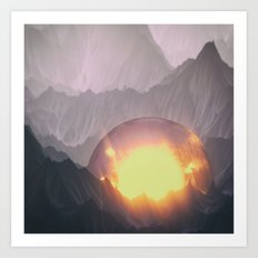 Sacred Lands Art Print