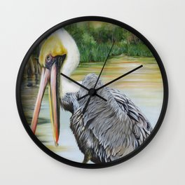 Louisiana Sunrise Wall Clock