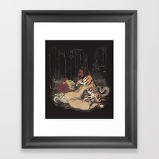 The Chimera Fight Framed Art Print