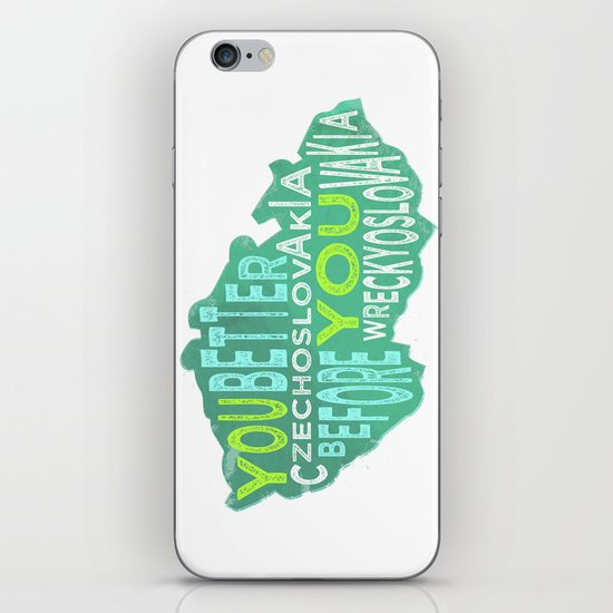 Czech Yourself iPhone & iPod Skin