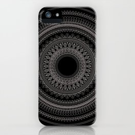 Medallion Mandala iPhone Case