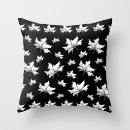 Just leaves... Throw Pillow