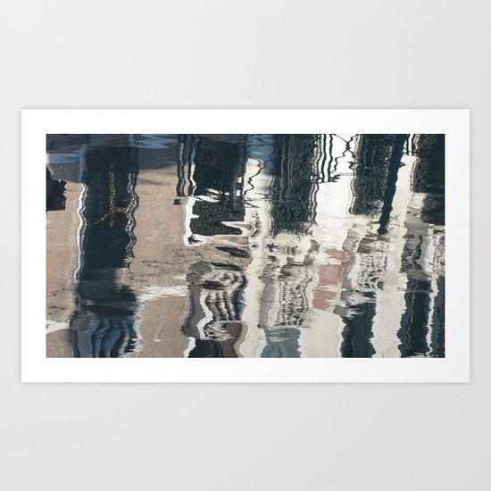 Bizarre Reflection  Art Print