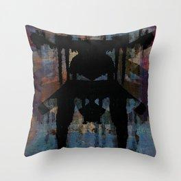 disquiet twenty one (petrococadollar) Throw Pillow