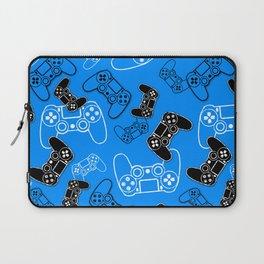 Video Games Blue Laptop Sleeve