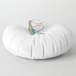 Jet Pack Unicorn Floor Pillow