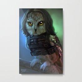 the owlvengers - bucky Metal Print