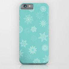 Snowflakes Slim Case iPhone 6s