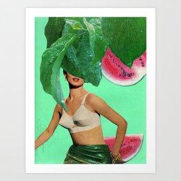 Nice Melons Art Print