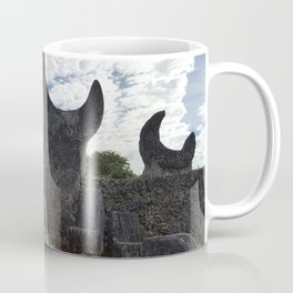 Coral Castle moon and planet Coffee Mug