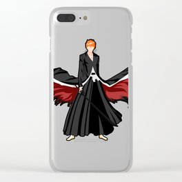 Ichigo Kurosaki Clear iPhone Case