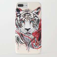 White Tiger Slim Case iPhone 7 Plus
