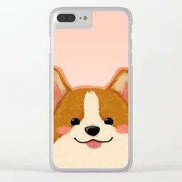 Corgi [blep!] Clear iPhone Case