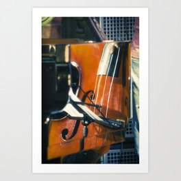Jazz Abstraction Art Print